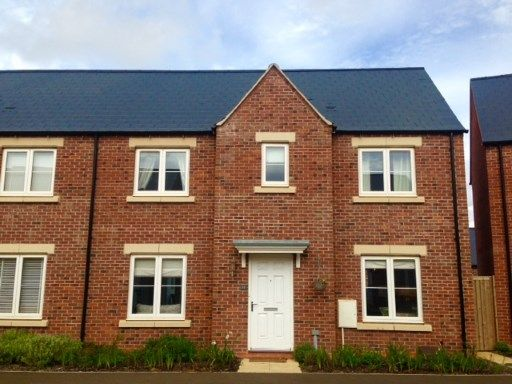 Thumbnail Semi-detached house for sale in Songthrush Road, Bodicote, Banbury, Oxfordshire