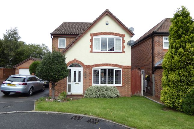 Thumbnail Detached house for sale in Clock Tower Close, Hyde