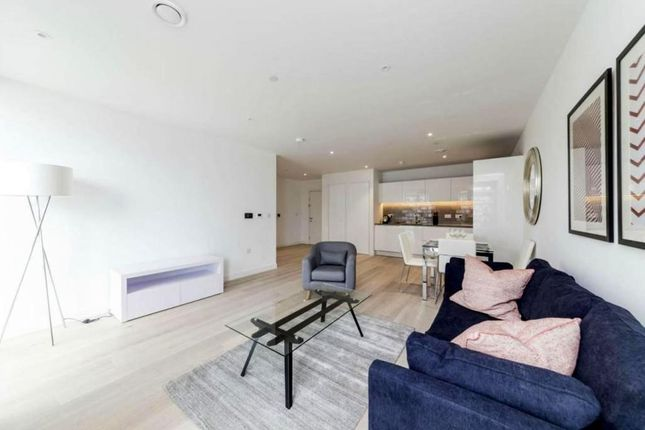 Thumbnail 1 bed flat for sale in Compass House, Royal Wharf, Silvertown, London