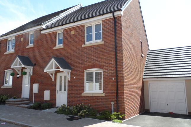 Thumbnail Semi-detached house to rent in Llys Y Wennol, Coity