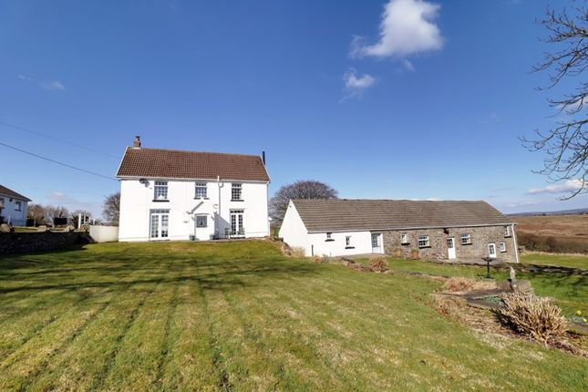 Thumbnail Detached house for sale in Heol Adam, Gelligaer, Hengoed