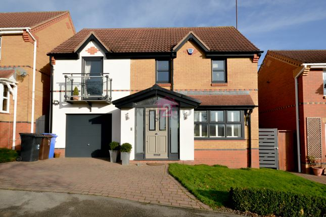 4 bed detached house for sale in Bright Meadow, Halfway, Sheffield S20