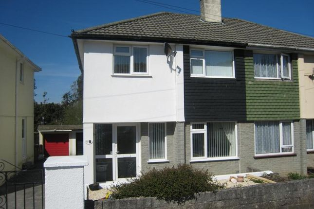 Thumbnail Semi-detached house to rent in Dudley Road, Plympton, Plymouth