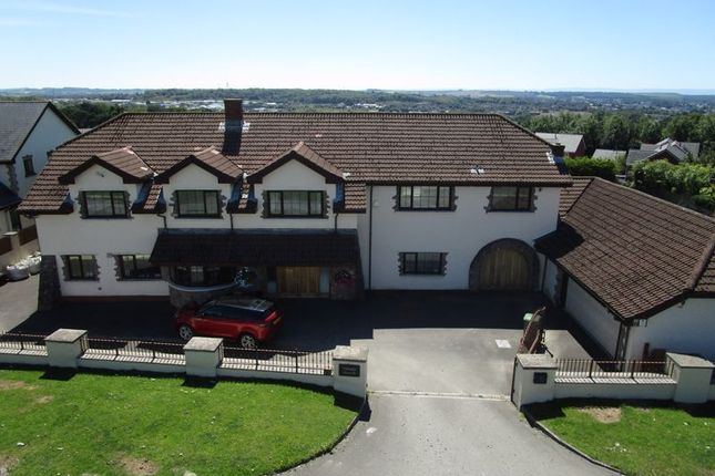 Thumbnail Detached house for sale in Fronwen, Litchard Hill, Bridgend