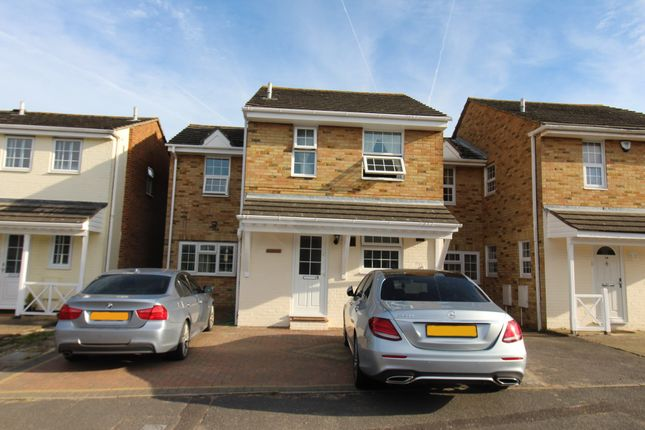 Thumbnail Link-detached house for sale in Embassy Close, Gillingham