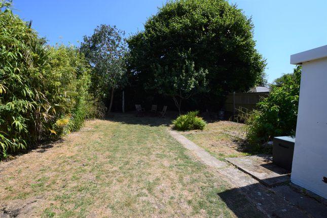 Rear Garden of Camber Way, Pevensey Bay BN24