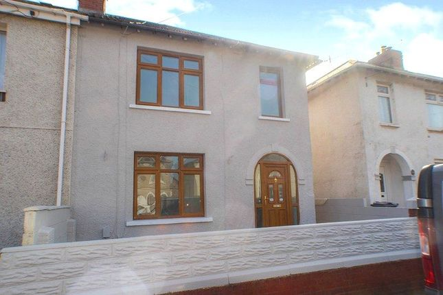 3 bed semi-detached house for sale in St. Davids Road, Port Talbot, Neath Port Talbot. SA12