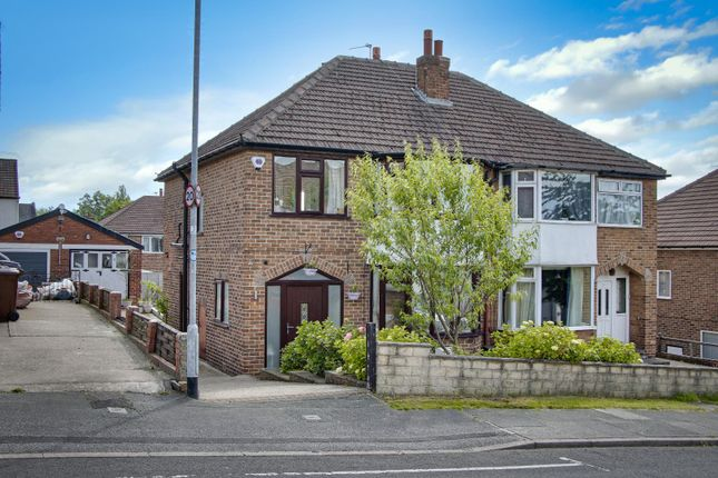 Thumbnail Semi-detached house for sale in Hillfoot Drive, Pudsey