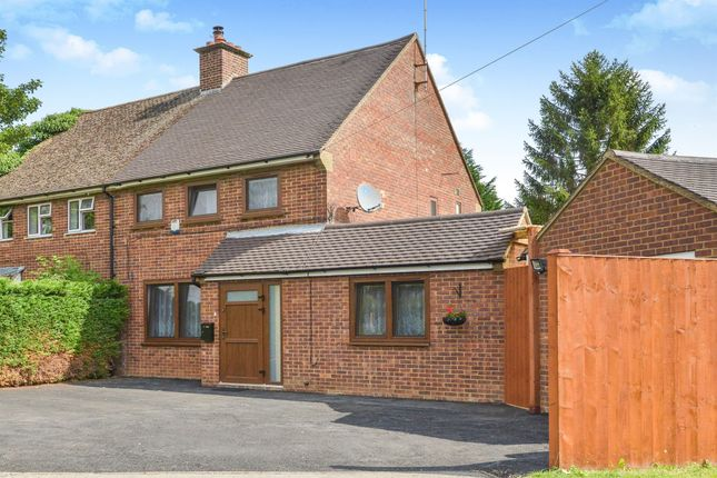 Thumbnail Semi-detached house for sale in Tyrells Road, Stoke Hammond, Milton Keynes