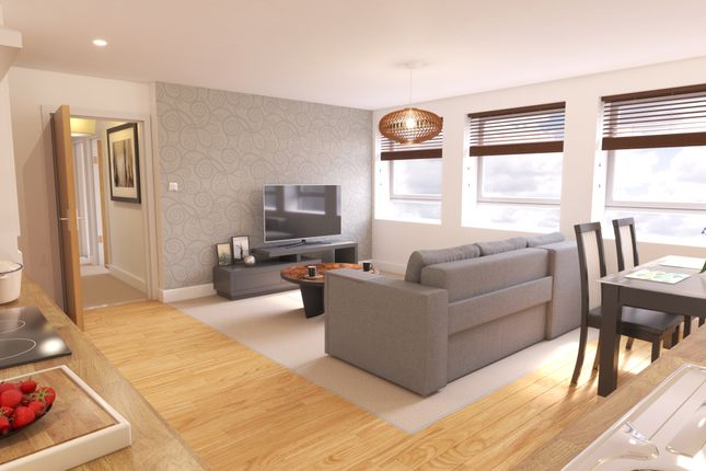 Thumbnail Flat for sale in Elfin Square, Edinburgh