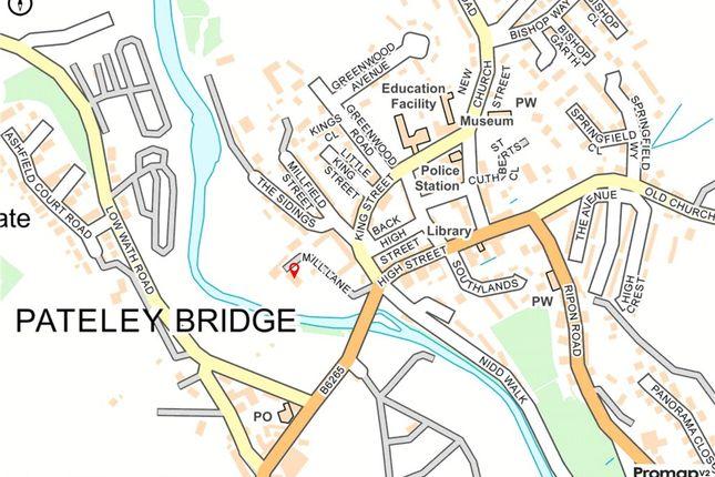 Location of Mill Lane, Pateley Bridge, Harrogate, North Yorkshire HG3