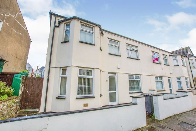 Thumbnail End terrace house for sale in Gordon Road, Roath, Cardiff
