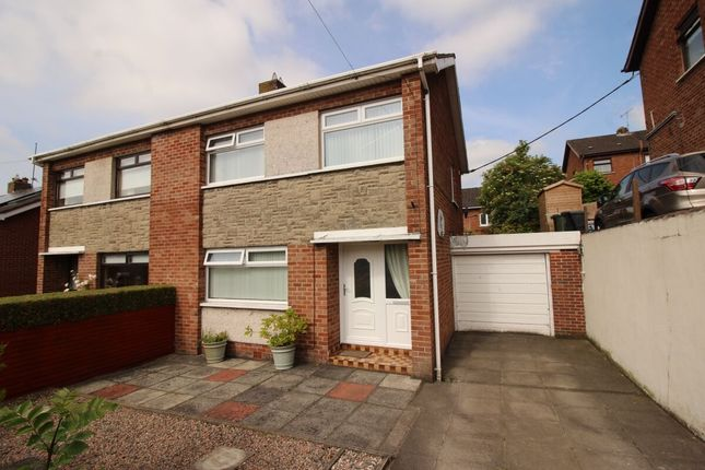 Thumbnail Semi-detached house for sale in Wynford Park, Lisburn