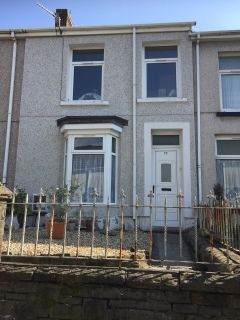 Thumbnail Terraced house to rent in Wern Road, Llanelli