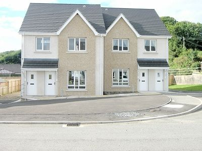 Thumbnail Semi-detached house for sale in Luce Bay Avenue, Sandhead