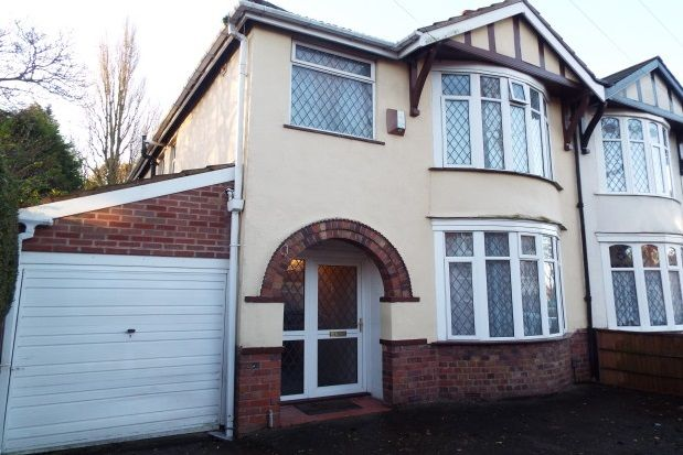 Thumbnail Property to rent in Alexandra Road, Penn, Wolverhampton