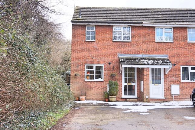 Thumbnail End terrace house for sale in Constable Road, Swindon