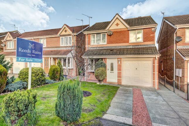 Thumbnail Detached house for sale in Primrose Close, Annitsford, Cramlington