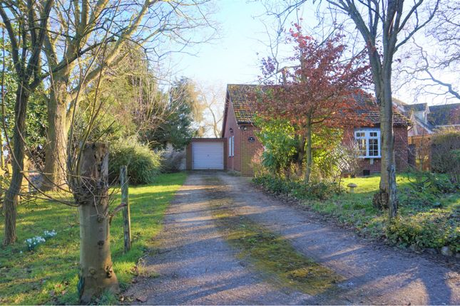 Thumbnail Detached bungalow for sale in Low Road, Norwich