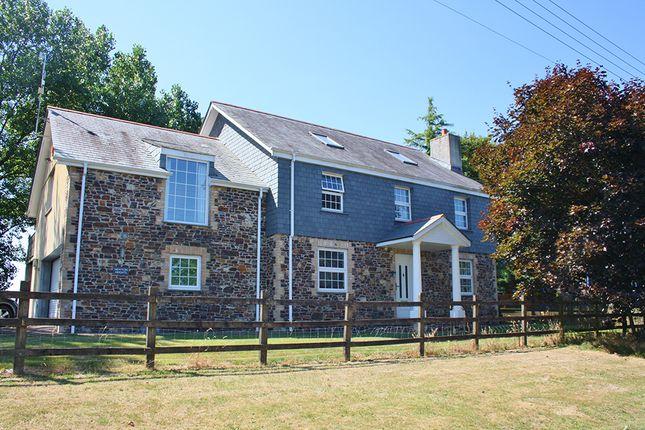 Thumbnail Detached house to rent in Boyton, Near Launceston