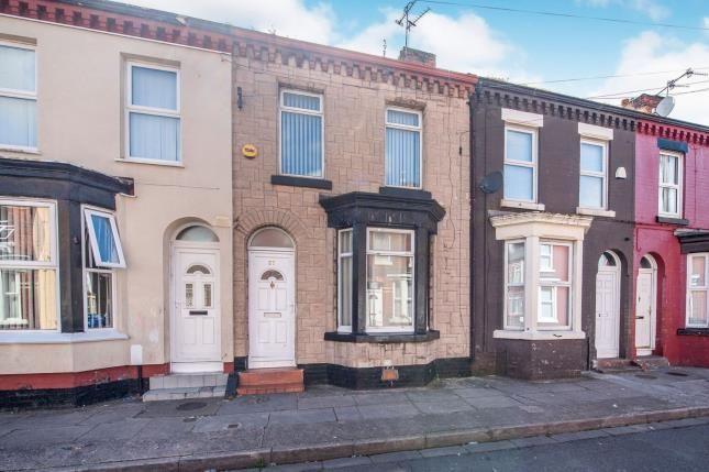 Front of Rossett Street, Liverpool, Merseyside L6