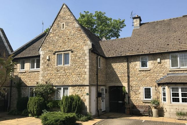 Thumbnail Town house for sale in Station Road, Stamford