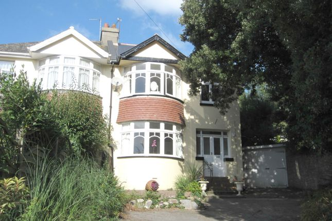 Thumbnail Semi-detached house to rent in Old Torwood Road, Torquay