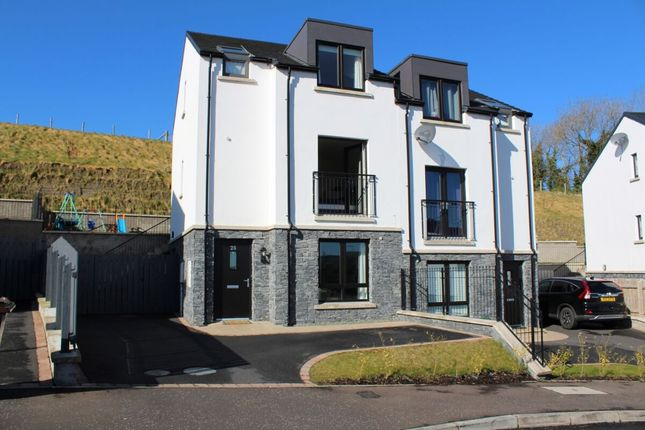 Thumbnail Semi-detached house for sale in Fort Manor, Dundonald, Belfast