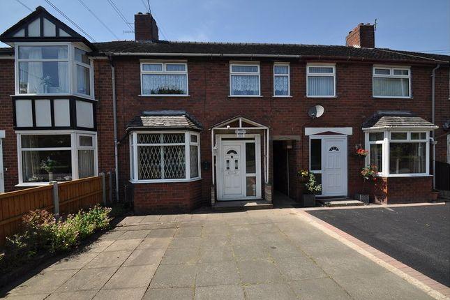 Thumbnail Town house for sale in Leek Road, Carmountside, Stoke-On-Trent