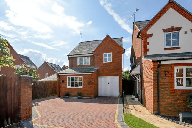 Thumbnail Detached house for sale in Grovely Close, Peatmoor, Swindon