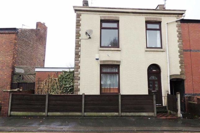 Thumbnail End terrace house for sale in Market Street, Droylsden, Manchester