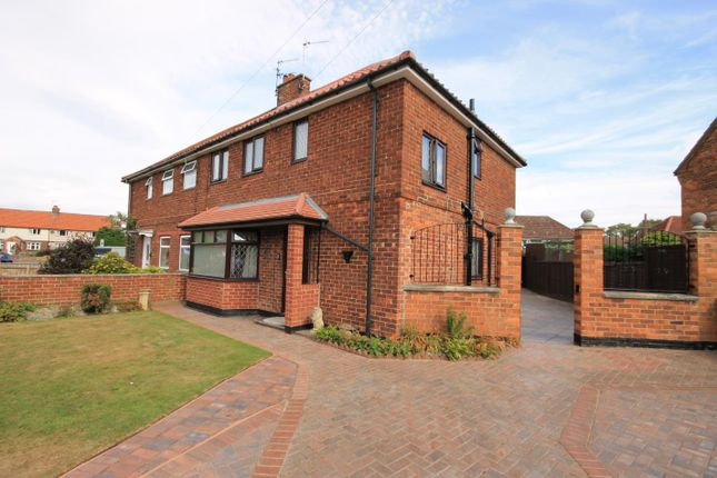 Thumbnail Semi-detached house to rent in The Crescent, Northallerton