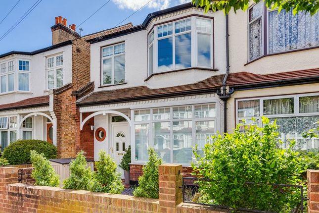 Thumbnail End terrace house to rent in Abbott Avenue, London