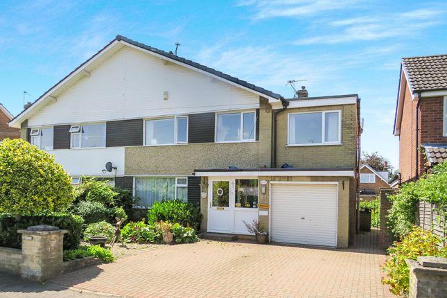 Thumbnail Semi-detached house for sale in Pear Tree Avenue, Upper Poppleton, York