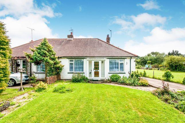 Thumbnail Semi-detached bungalow for sale in Sayerland Lane, Sayerland, Polegate