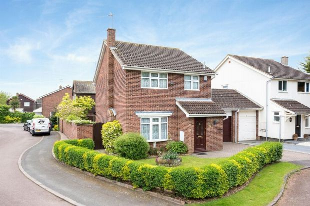 3 bed detached house for sale in Riverwell, Ecton Brook, Northampton