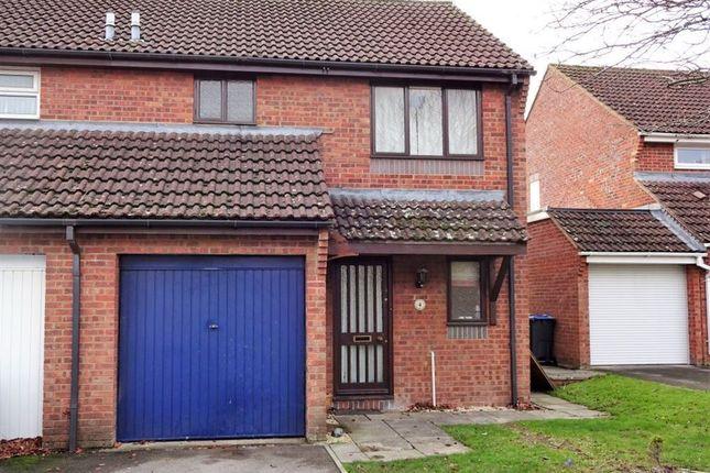 Thumbnail Semi-detached house to rent in Le Marchant Close, Devizes, Wiltshire
