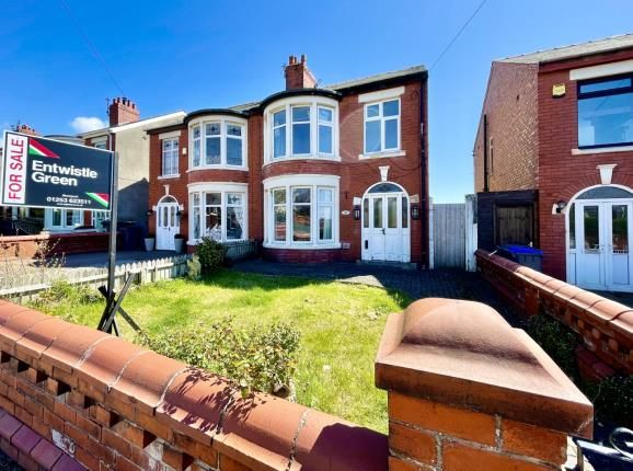 3 bed semi-detached house for sale in Bloomfield Road, Blackpool, Lancashire FY1