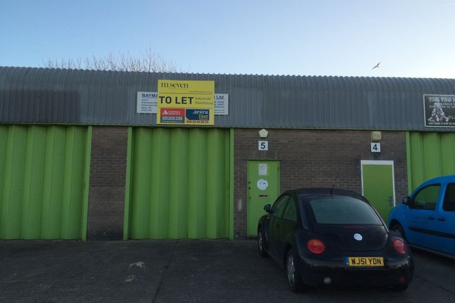 Industrial to let in Palmerston Trading Estate, Palmerston Road, Barry