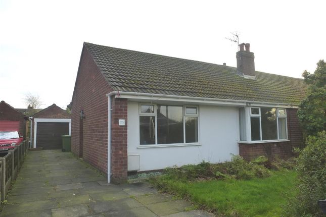 Thumbnail Semi-detached bungalow to rent in Cedar Avenue, Sutton Weaver, Runcorn