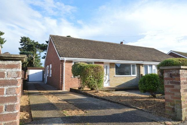 Thumbnail Semi-detached bungalow for sale in Raymond Road, Hellesdon, Norwich
