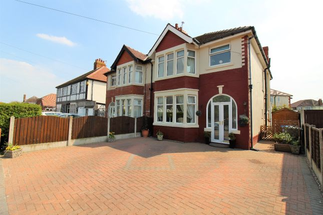 Thumbnail Semi-detached house for sale in Crossway, Cleveleys