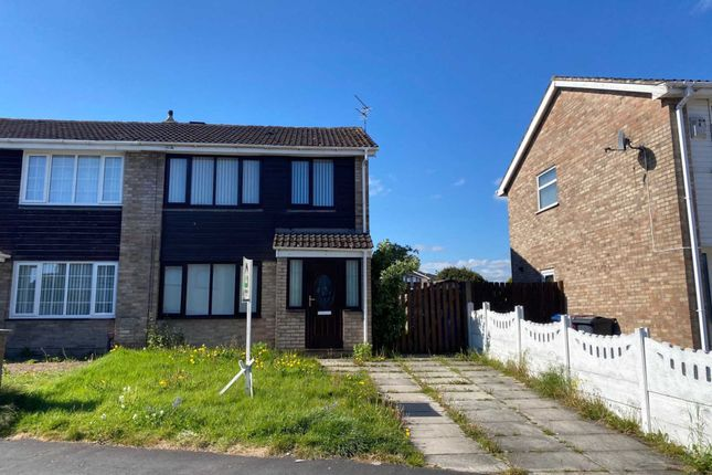 Thumbnail Semi-detached house for sale in Saxon Way, Kirkby, Liverpool