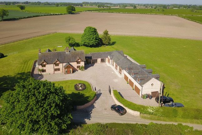 Thumbnail Detached house for sale in Grange Road, Knightley, Staffordshire