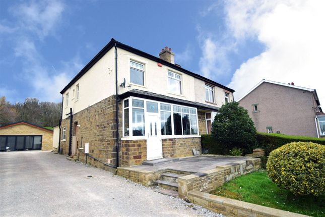 Thumbnail Semi-detached house to rent in Bradford Road, Riddlesden, Bradford, West Yorkshire