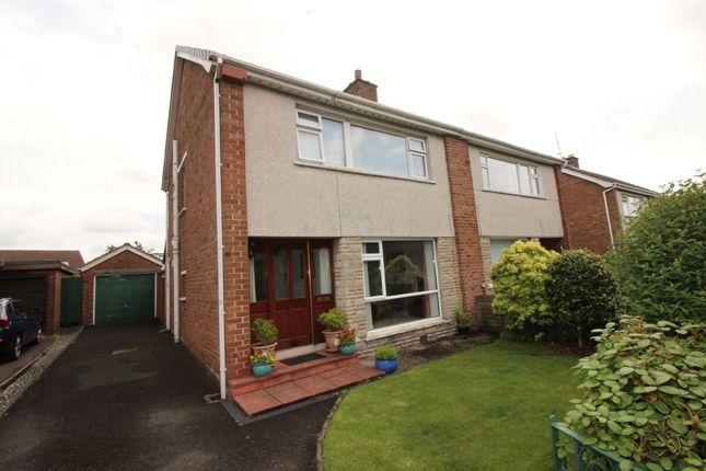 Thumbnail Semi-detached house for sale in Whitla Crescent, Lisburn