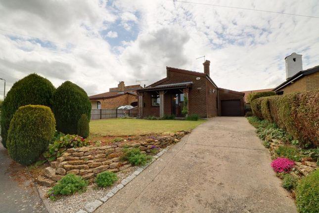 Thumbnail Detached bungalow for sale in Chestnut Close, Scotter, Gainsborough