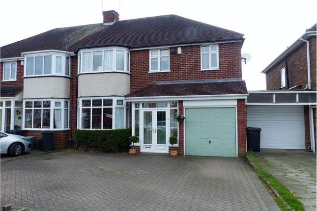 Thumbnail Semi-detached house for sale in Hiplands Road, Halesowen