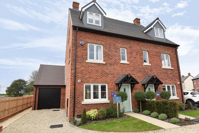 Thumbnail Semi-detached house to rent in Heyford Park, Camp Road, Upper Heyford, Bicester
