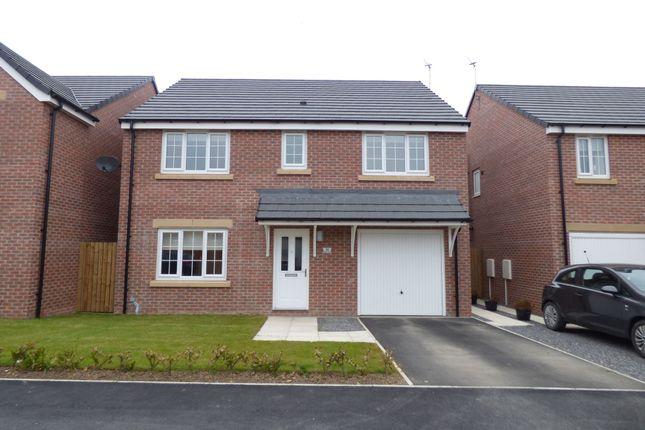 Thumbnail Detached house to rent in Belfry Close, Ashington